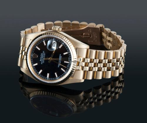 rolex datejust oro copia